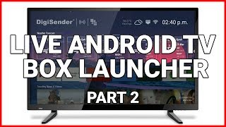 Another Android TV Launcher - DigiSender XDS Live OS - Самые