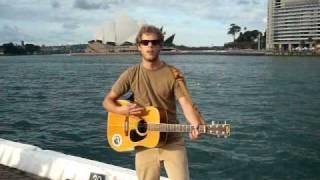 "Busking ""Tragic Flaw"" by the Arkells in Sydney"