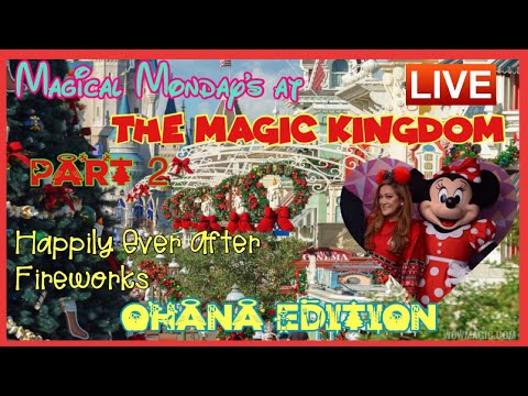 🔴LIVE. Magical Monday's at The Magic Kingdom