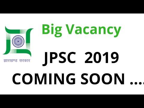 JPSC Vacancy 2019 Coming soon ......
