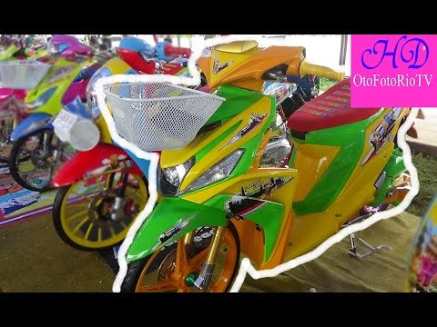 Video Modifikasi Yamaha Mio M3  Motovlog