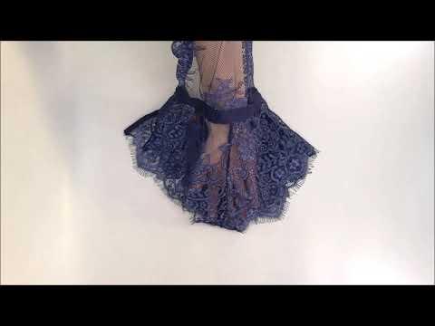 Vášnivé body Flowlace teddy - Obsessive