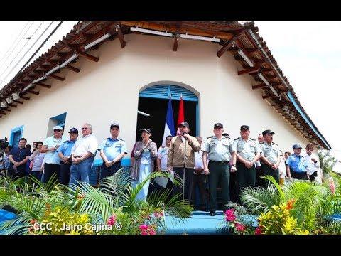 Presidente Daniel Ortega y vicepresidenta Rosario Murillo presiden homenaje al general Sandino