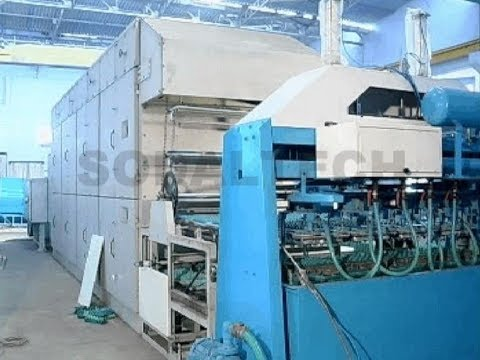 Reciprocating Pulp Moulding Machine