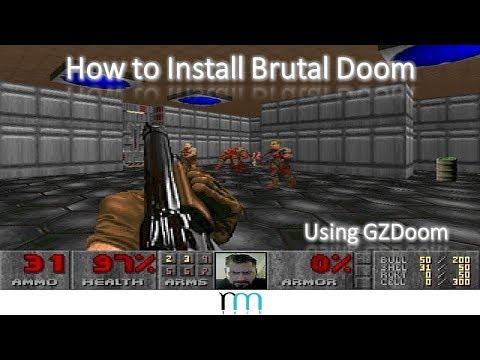 How to Install Brutal Doom Using GZDoom - Музыка для Машины