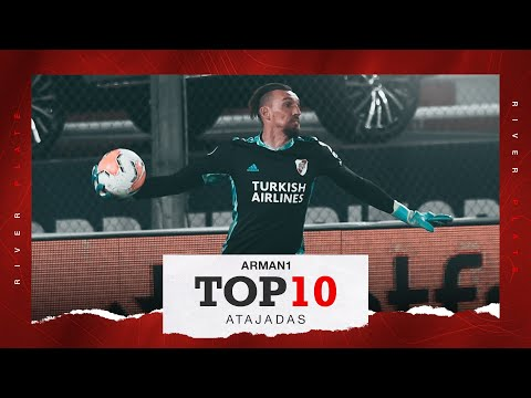 Armani Top-10: un arquero de otro planeta