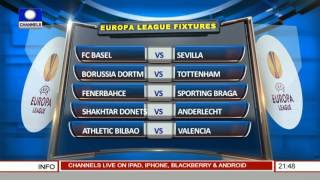 Sports Tonight: Examining The Europa League Fixtures