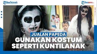 Sosok Lia Penjual Papeda di Pekalongan, Berkeliling Gunakan Kostum Kuntilanak hingga Seragam Sekolah
