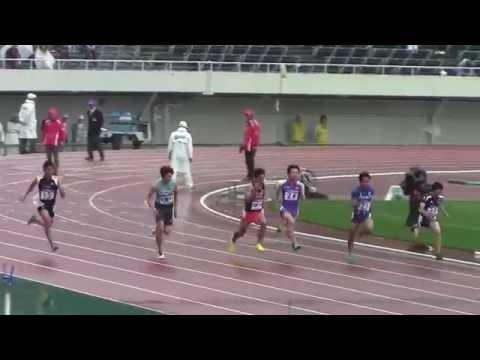 織田記念 男子100mB決勝