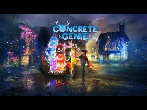 Concrete Genie - Le Pinceau Et Les Génies Sur Ps4 Pro