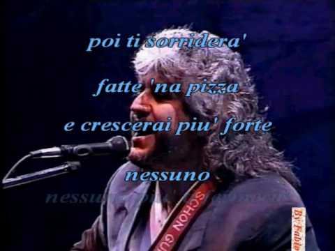 Pino Daniele Fatte na Pizza Live Cava dei Tirreni Karaoke