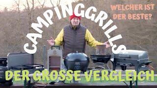 Wir TESTEN Campinggrills - Elektro, Gas oder Kohle - Welcher Campinggrill ist der BESTE?