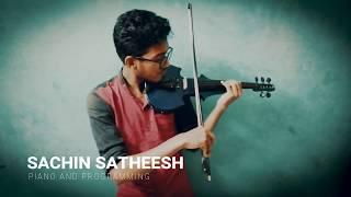 Pavizha mazhaye | Violin cover  | Athiran | Akshay | Harisankar | Sachin satheesh |THRASH MUSIC BAND