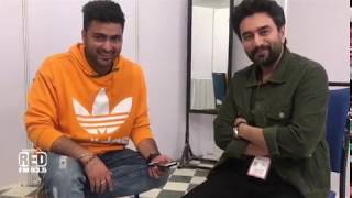 RJ Abhi With Shekhar At Jaipur Literature Festival 2019