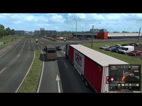 ETS 2 1 33 - Beyond The Baltic Sea DLC - SCANIA S520 V8
