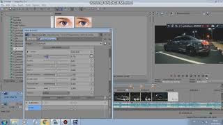 Sony Vegas Pro Geçiş Efekti Ve Sallanma Efekti s_blurMocurves & s_Shake
