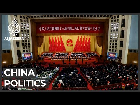 China set for its largest political meeting