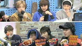 [iKON/아이콘] 구준회가 하루에 먹은 음식들 (feat. 핫바 10개)