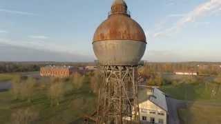 preview picture of video 'Peine von Oben - Der Wasserturm von Groß Ilsede (HD)'