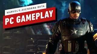 Marvel's Avengers Beta: 19 Minutes of PC Gameplay (1080p 60fps)