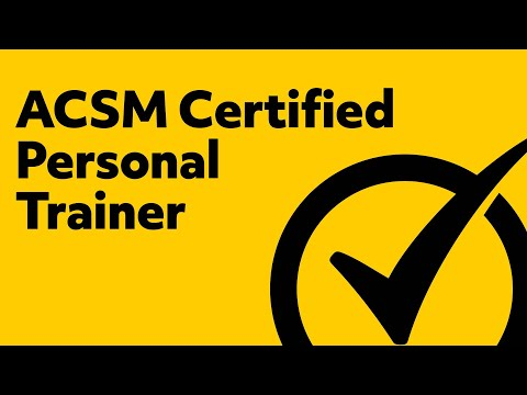 Free ACSM Certified Personal Trainer Study Guide - YouTube