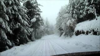 preview picture of video 'De Krutzeta a Olaeta con nieve'