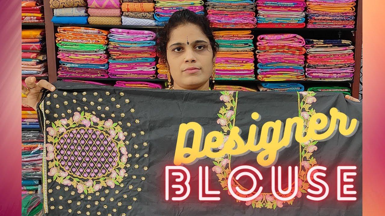 "<p style=""color: red"">Video : </p>Designer Blouses in Pragnya Sarees | Wholesale &amp; Retail | ప్రజ్ఞ సారీస్|Hyderabad 2021-10-22"