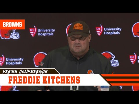 Freddie Kitchens Analyzes What Went Wrong vs. Seahawks | Cleveland Browns
