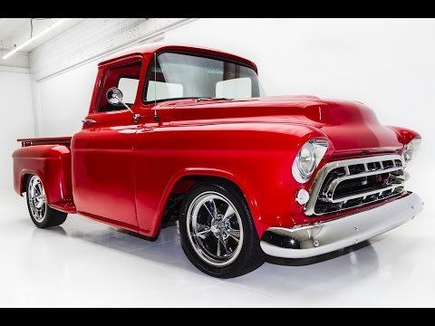 Video of 1957 Chevrolet Pickup located in Des Moines Iowa Offered by American Dream Machines - KM69