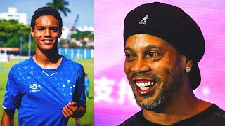 RONALDINHO's SON – FOOTBALL MONSTER! Refused PSG and tears up in Cruzeiro! Who is Joao Mendes?