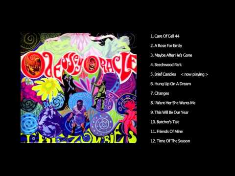 THE ZOMBIES ODESSEY ORACLE S63280 FIRST UK A2/B2 LP CLOSE TO MINT