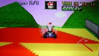 MK64 - former world record on Royal Raceway - 2'52''27 (NTSC: 2'23''27)