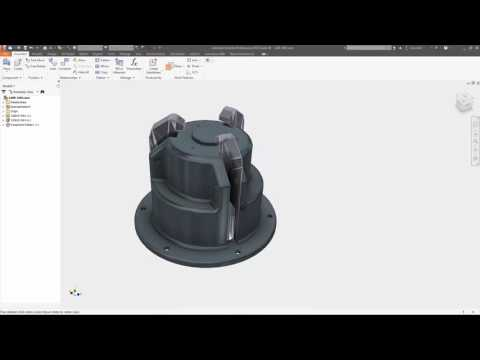 Autodesk Inventor 2017 - Improved Mesh Handling EN