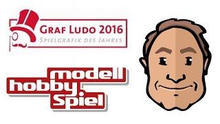 Graf Ludo 2016 auf der Modell Hobby Spiel mit Alex