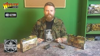 Bolt Action Hanomag Ausf C + D unboxing Warlord Games