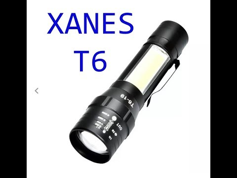 XANES T6+COB 4Modes Front + Side Light GREEK UNBOXING-REVIEW (banggood)