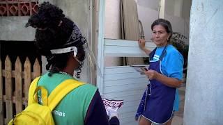 Mais de 200 imóveis são vistoriados contra a dengue em morro de Santos