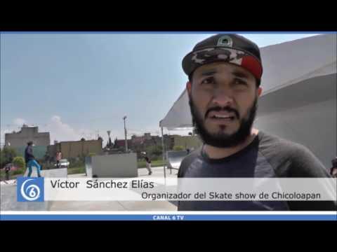 Concurso de Skateboard en Chicoloapan