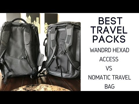 Best Travel Bag Comparison: Wandrd Hexad Access Duffel vs Nomatic Travel Bag