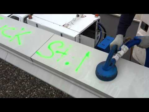 Graffiti removal metal reclaim