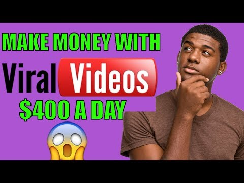 2018 How to Make money Online Posting Viral Videos  | make money online fast 2018 | make money free