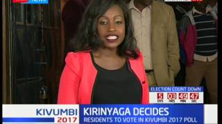 Kivumbi2017: Kirinyaga Decides; Residents outline key issues they face