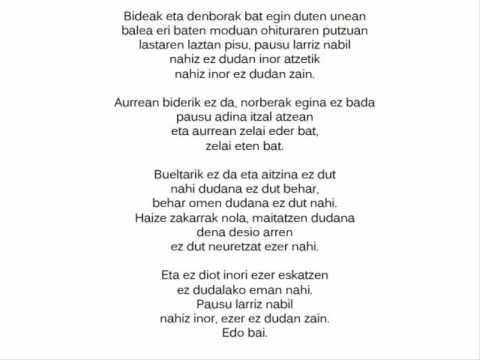 Bidea eta denbora -Anari-.wmv