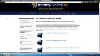 Money Mastery Learn Kindle Publishing