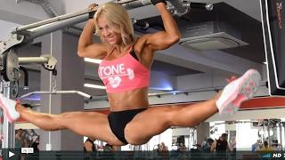 Melinda Szabo Gym Photoshooting Video