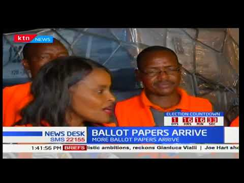 Third and last batch of ballot papers scheduled to arrive this evening