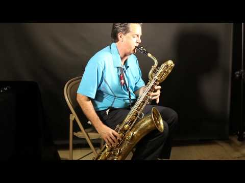 Milano Music - Selmer Paris 1961 Mark VI Bari Sax Demo