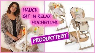 HOCHSTUHL REVIEW | HAUCK SIT'N RELAX | PRODUKTTEST | OlasWorld