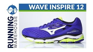Mizuno Wave Inspire 12 Men's Running Shoe video
