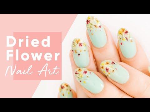 Dried Flower Nail Art Tutorial | ipsy Nailed It!